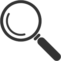 Financial Transparency Magnifier Icon