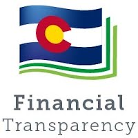 State of Colorado Flag Financial Transparency Icon